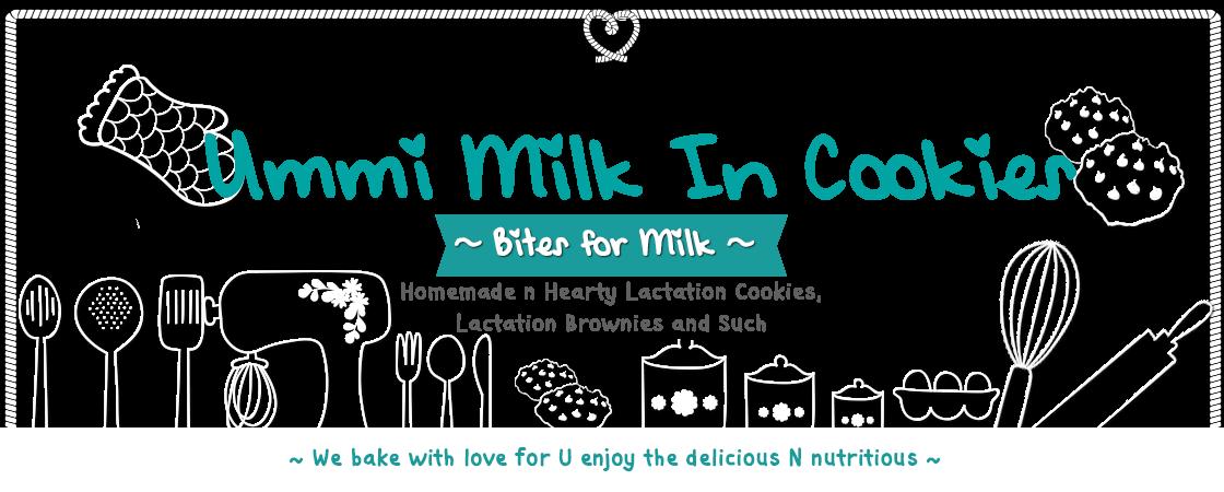 Ummi Milk In Cookies ~ Bites for Milk ~