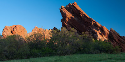 Roxborough State Park sunrise
