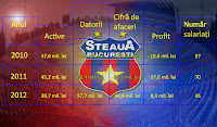 Indicatori financiari Steaua