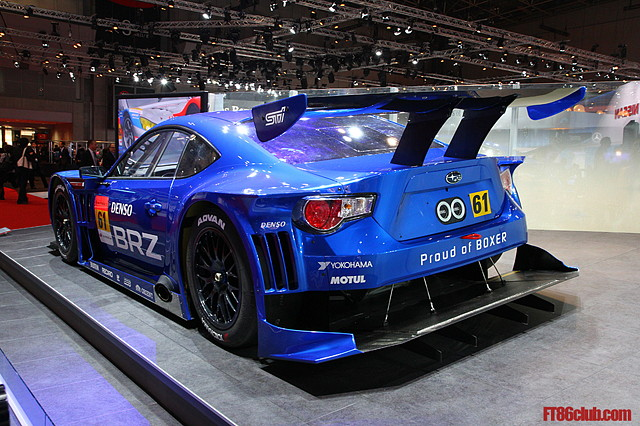 Subaru BRZ, Super GT, boxer, japoński wyścigowy samochód