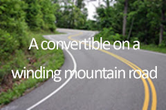 i want to drive a convertable on a winding mountain road