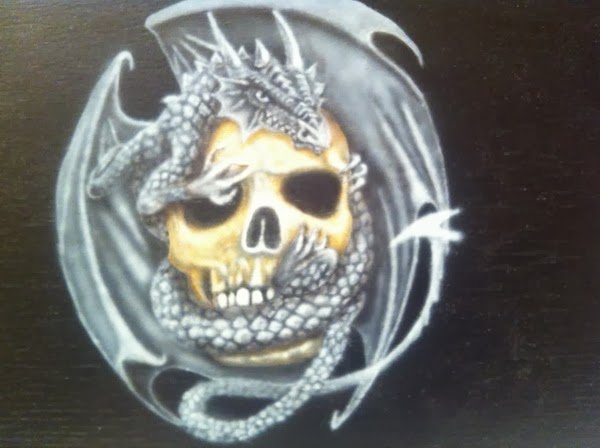 photo4 tuto skull et dragon par bysoairdisign