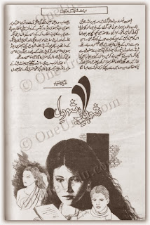 Shehr e yar shehr e dil by Aneeza Sayed pdf.