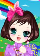 Куколка милашка - Онлайн игра для девочек