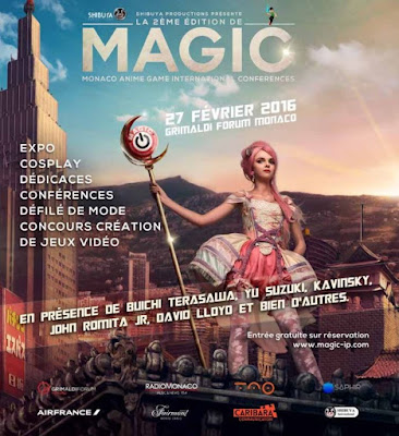 Monaco Anime Game International Conferences - MAGIC 2016