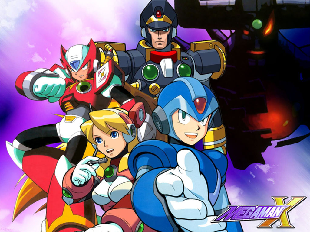 Megaman HD & Widescreen Wallpaper 0.0484474708236435