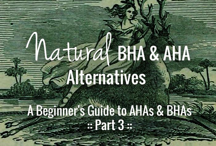 DIY/Natural Chemical Exfoliants, AHA & BHA Alternatives - Do They Work?