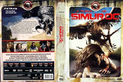 Filme A Fúria de Simuroc DVD Capa