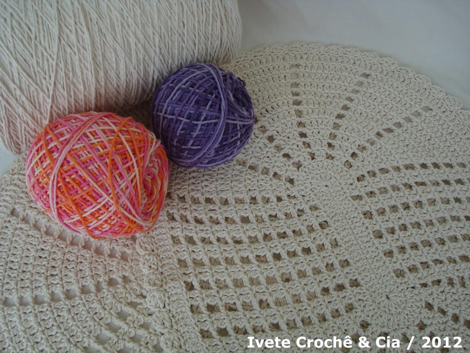 Tapete Moderno De Croche Tapete Oval -> Tapete De Croche Oval Simples Passo A Passo