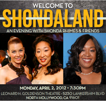 sandra oh ellen pompeo panel an evening with shonda rhimes