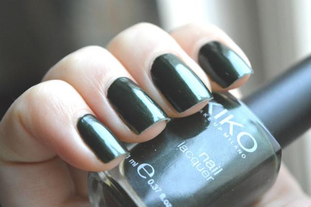 Kiko 392 nail polish swatch