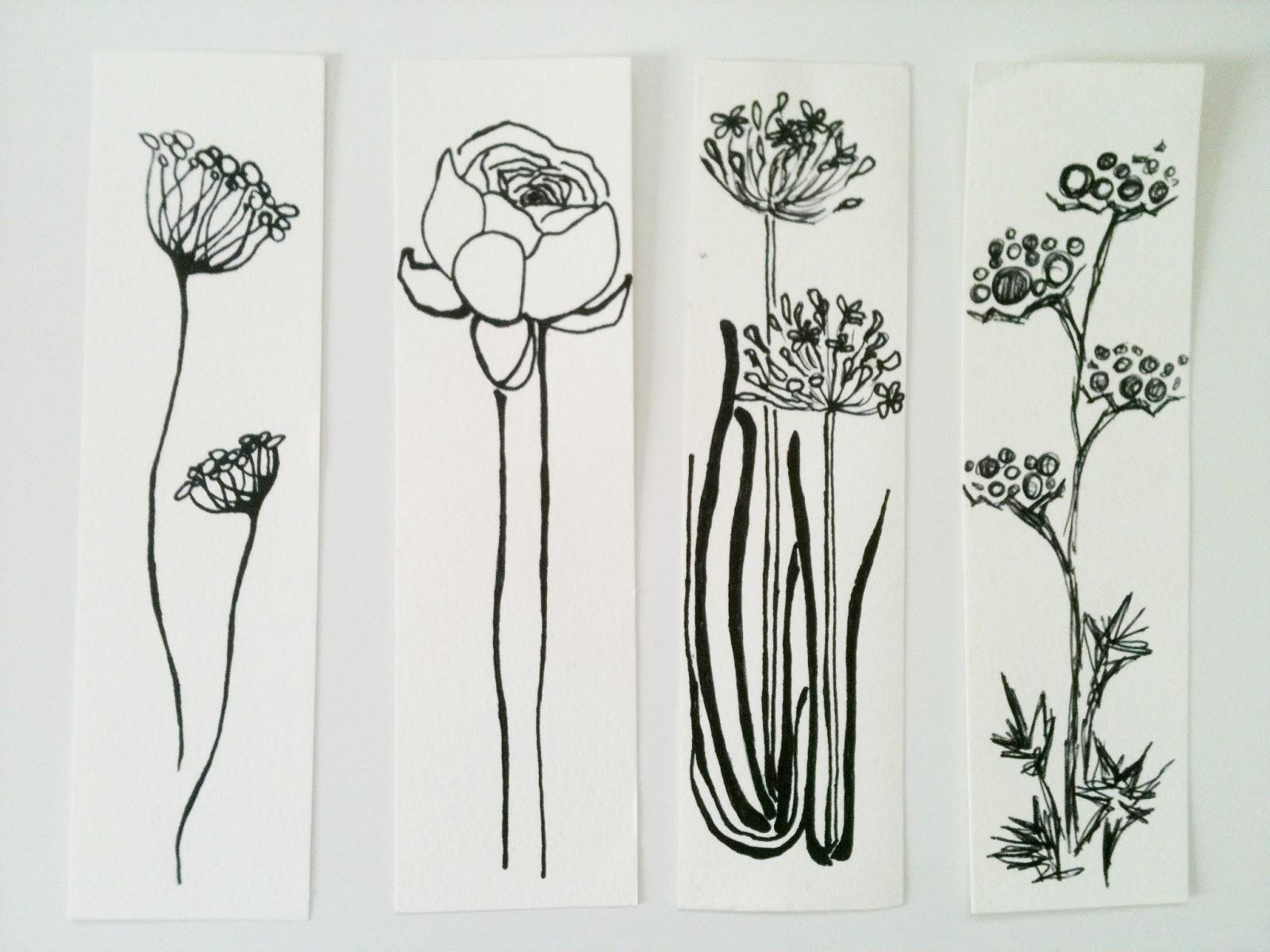 niche design Some Sunday sketches Flowers