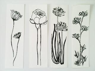 Flower Drawings - Meadow Flowers