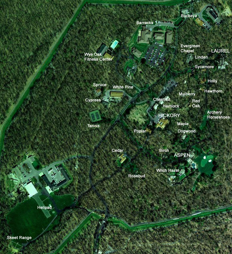 About Camp David Camp David On Google Maps And Google Earth