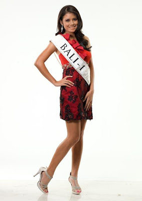 Ines Putri Tjiptadi Chandra, Miss Indonesia 2012