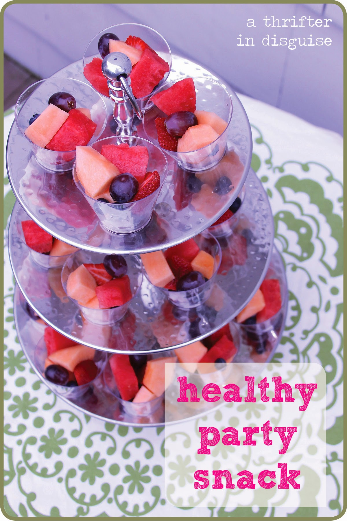 A Thrifter in Disguise Healthy Alternatives for Classroom Parties