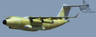 China's Y-20 Military Transport Aircraft