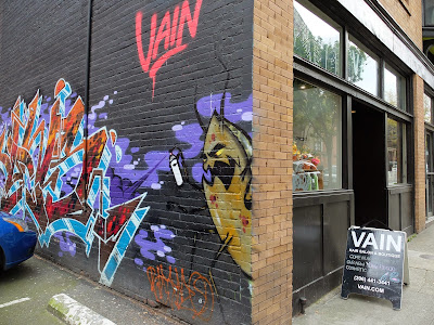 The Vain Graffiti Wall