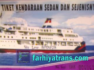 tiket kapal
