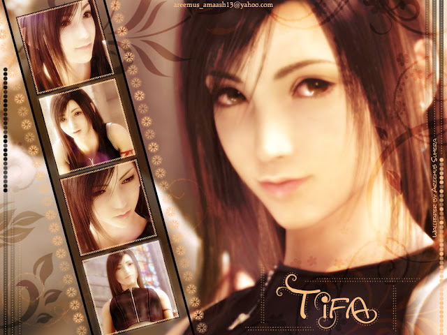 Final Fantasy 7 Advent Children Tifa Lockhart square enix movie sony