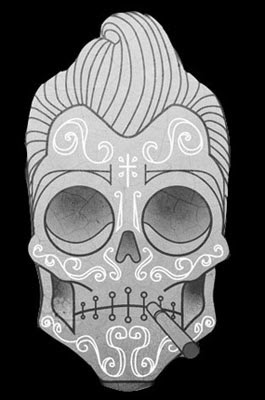 Tatuagem caveira mexicana - Ideias e desenhos