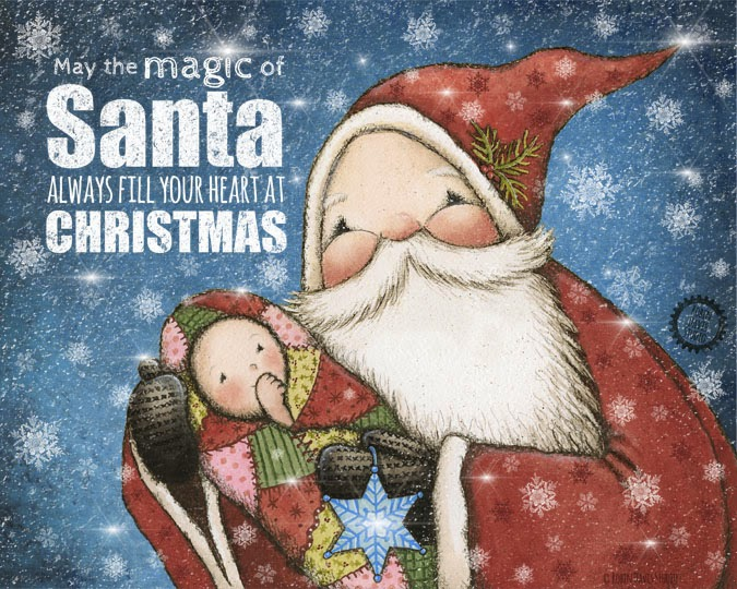 The magic of Santa | Robin Davis Studio