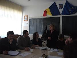 Aspecte de la cursurile de Management Educaţional, martie 2013...