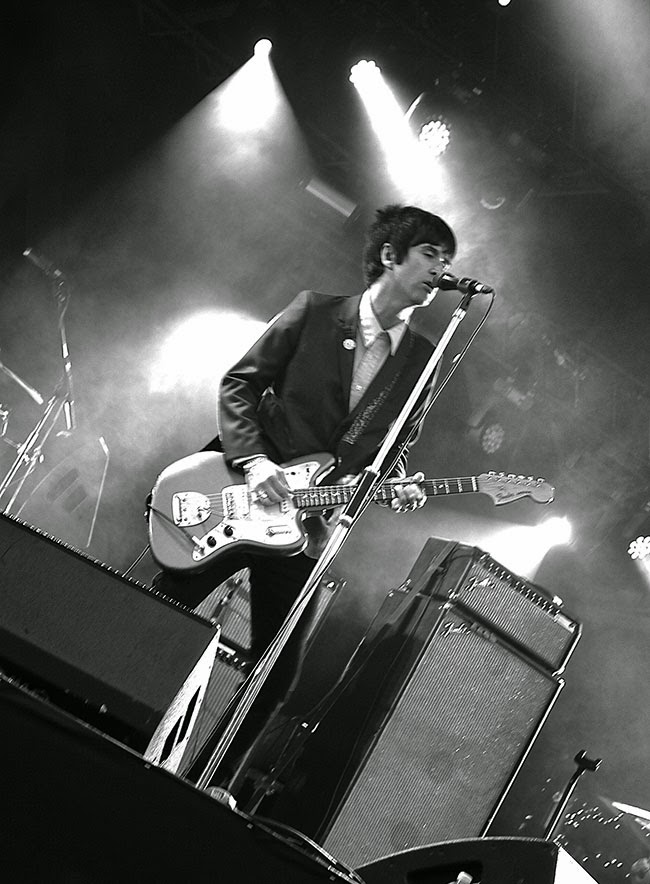 Johnny Marr at Camp bestival