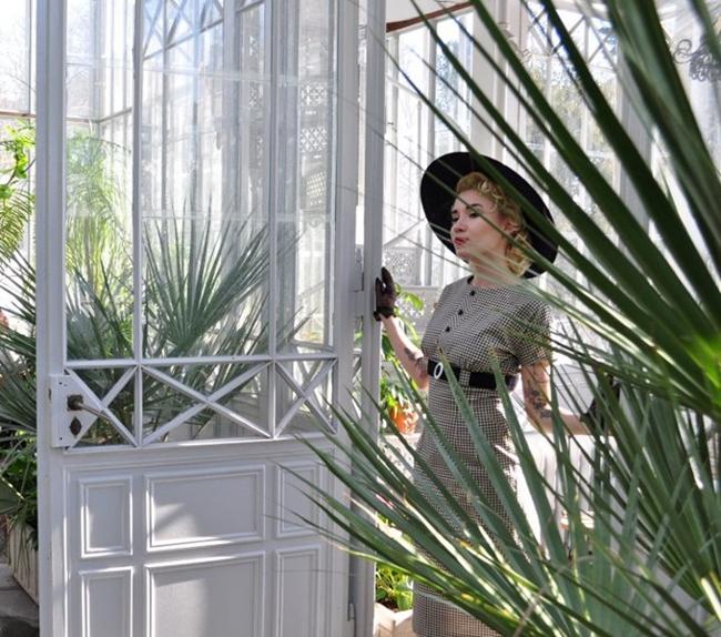 Cherise Design vintage inspired handmade dress
