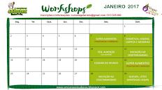WORKSHOPS JANEIRO 2017
