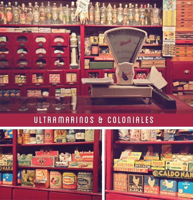 ultramarinos vintage museo