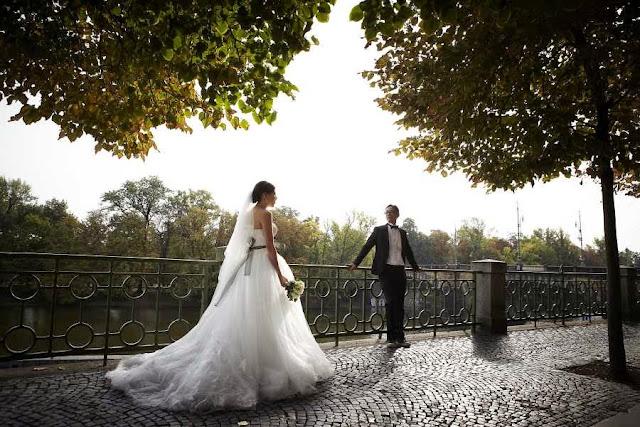 foto pre wedding di alam terbuka