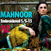 Al-Zohaib Mahnoor Embroidered Series 2015 | Embroidered Lawn Dresses