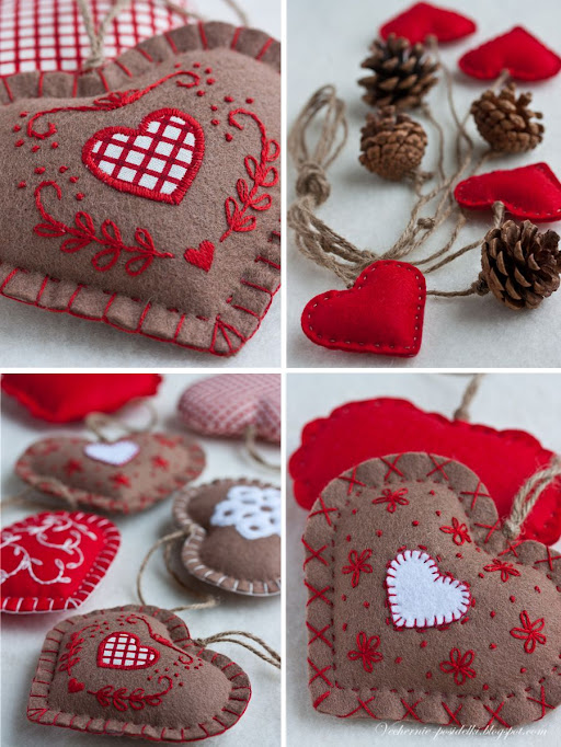 Felted+hearts8