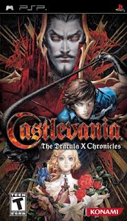 Castelvania: The Dracula X Chronicles PSP GAME