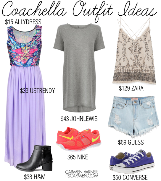 Coachella Outfit Ideas / Carmen Varner // Lifestyle Blogger and Social ...