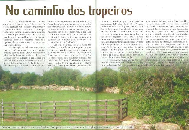 Revista PAMPA MAGAZINE: No caminho dos tropeiros