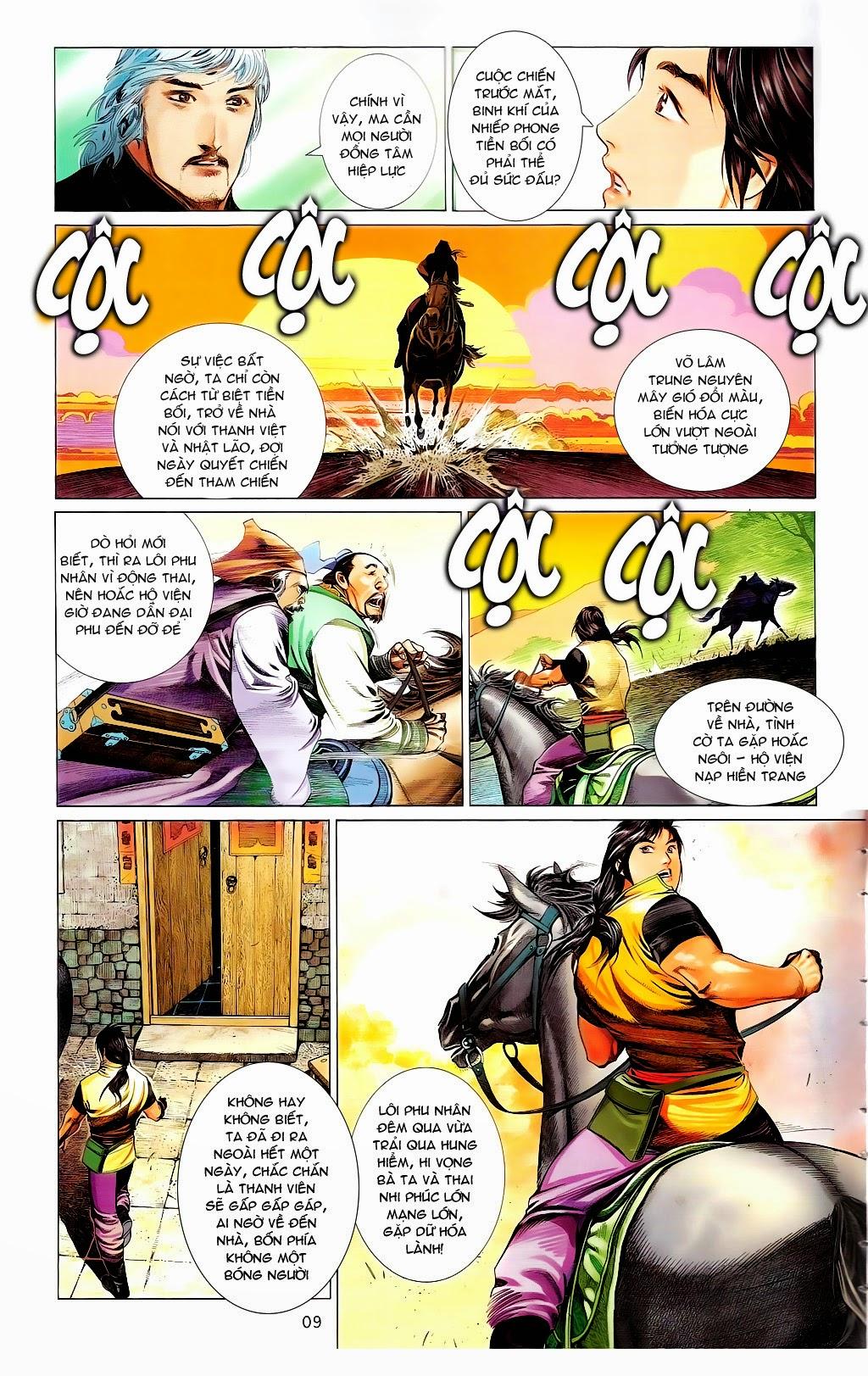 Phong Vân chap 665 Trang 8 - Mangak.info