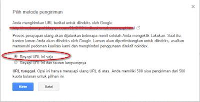 Manfaatkan Fetch As Google Agar Artikel Terindex Dengan Cepat