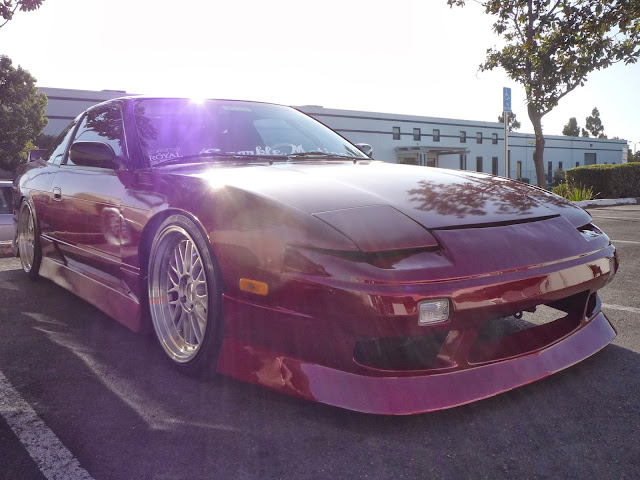1991 Nissan 240SX with paint from Almost Everything Auto Body