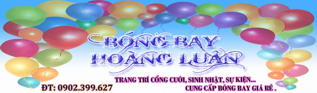 Dịch Vụ trang trí bong bóng Hoàng Luân