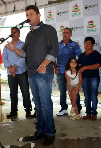 Prefeito Arlei frisa que a praça é uma importante conquista para Bonsucesso