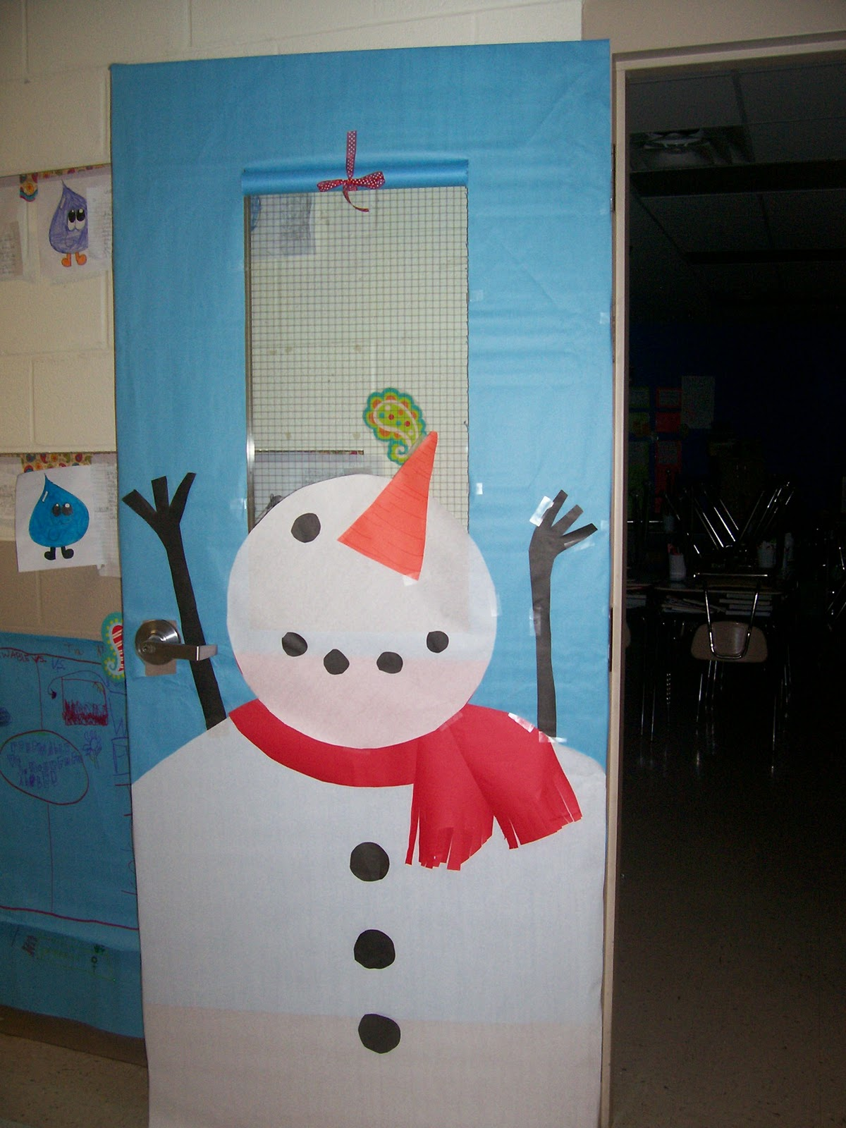 Classroom Door Decoration Ideas For Winter ~ Assessment grade madness tis the season for cramming