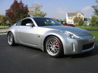 nissan 350z modification