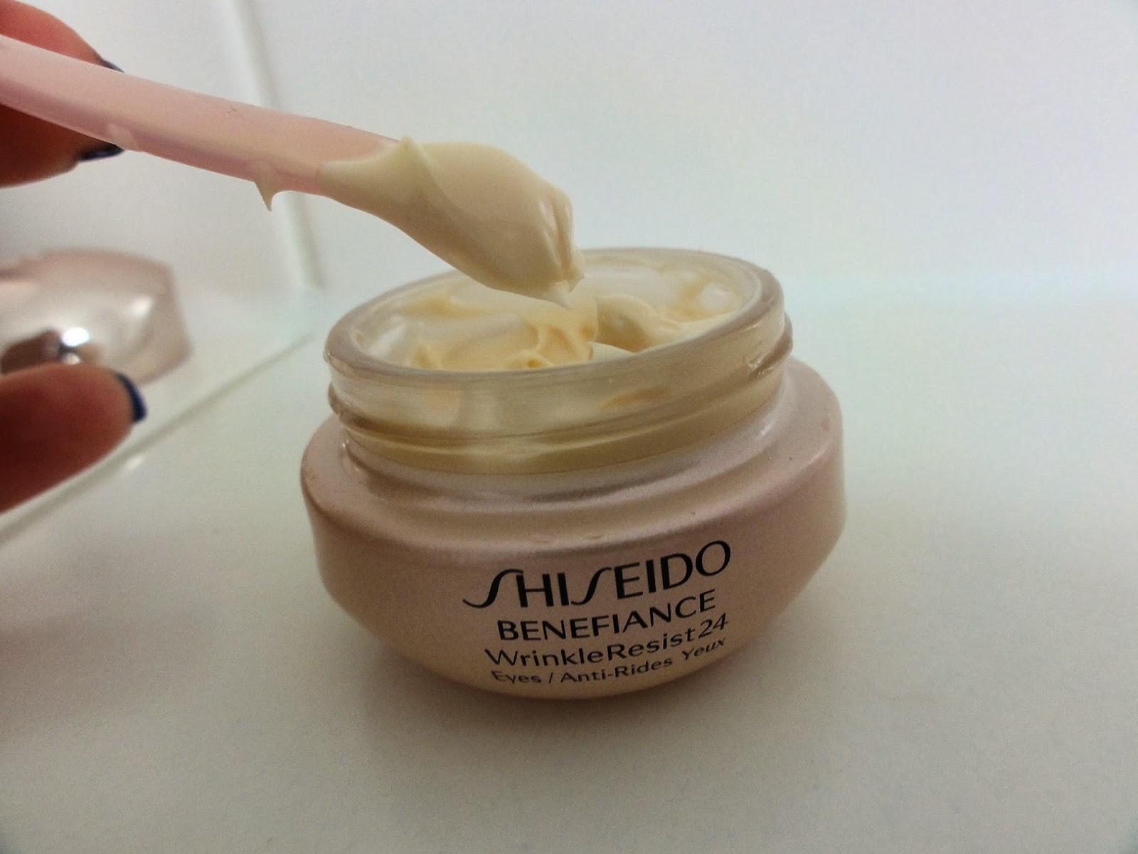 cream shiseido benefiance wrinkle resist 24