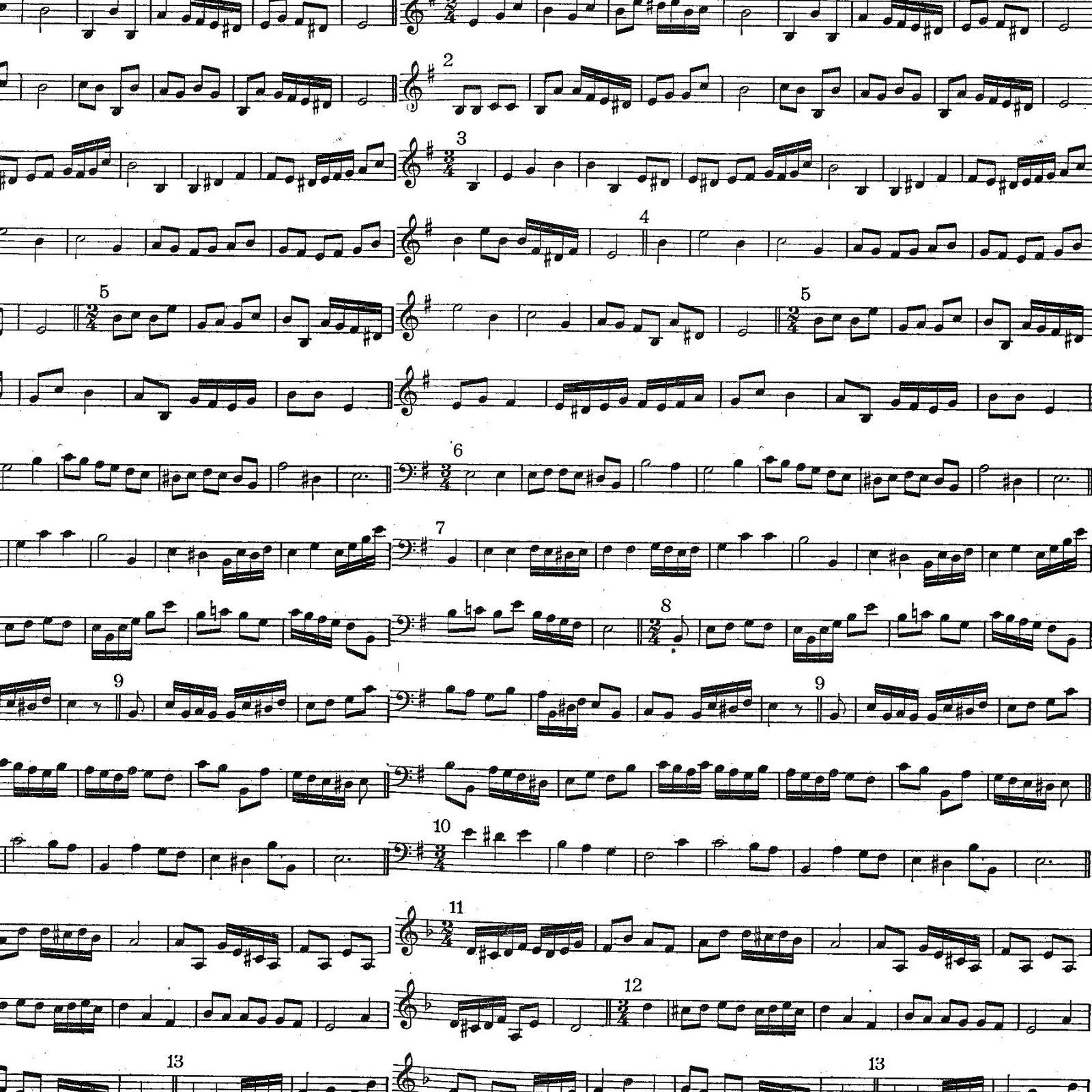 Fabuleux Promenons-nous ! - Papier à musique à imprimer WI58