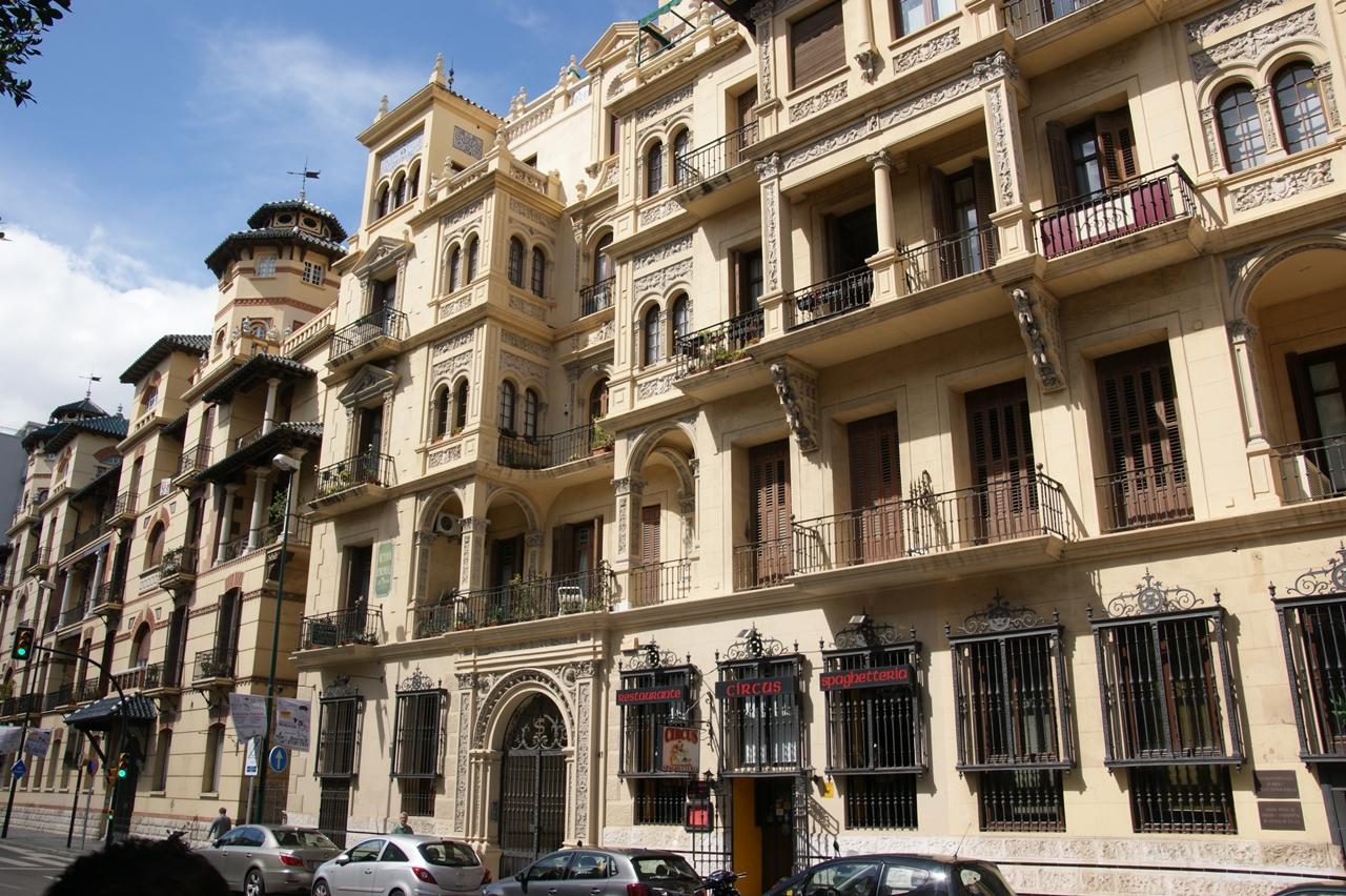Club bellas artes malaga bellos edificios de m laga - Arquitectos en malaga ...