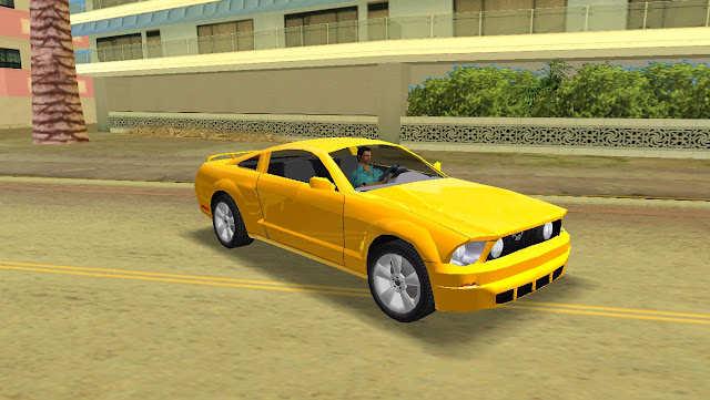 Ford Mustang GT 2005 GTA Vice City