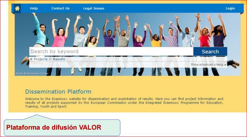 Plataforma de Difusión VALOR