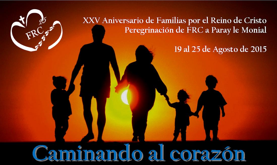 Peregrinación de FRC a Paray le Monial. 2015